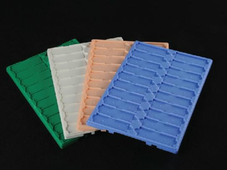 Plastic Slide Mailers and Tray